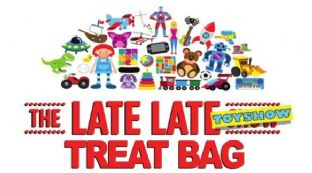 10 Late Late Toy Show Treat Bag Stickers
